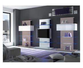 Porta tv da parete eleganza nascosta dalani e ora westwing - Mobile tv a parete ...