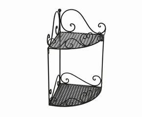 Mensole angolari non solo per il bagno dalani e ora for Mensole in ferro battuto