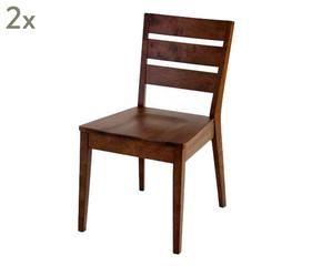 dalani   sedie in noce: stile classico senza tempo - Sedie Soggiorno Dalani 2