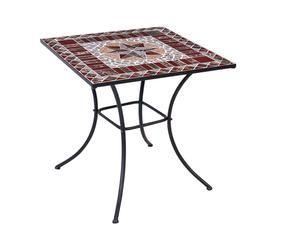 Tavolo mosaico giardino arbeggiante dalani e ora westwing - Decoupage su mobili in formica ...