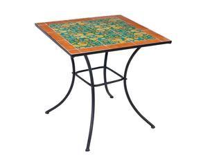 Tavolo mosaico giardino arbeggiante dalani e ora westwing for Tavolo rotondo mosaico