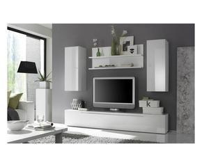 DALANI | Parete attrezzata bianca: combinazioni eleganti