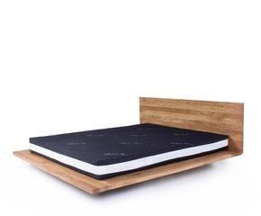 Letto in legno grezzo semplicità e relax dalani e ora westwing