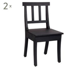 Mooie luxueuze houten stoelen voor elk design westwing for Keukenstoelen met wieltjes