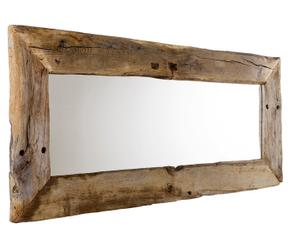 Grote Spiegel Hout : Ronde spiegel met houten lijst. fabulous latest riverdale paris