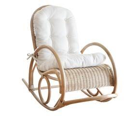 Schommelstoel Op Balkon : Rock on met een houten schommelstoel westwing