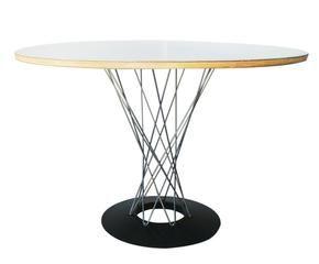 Ronde witte eettafel trendy tafel met ronde voet wit with ronde