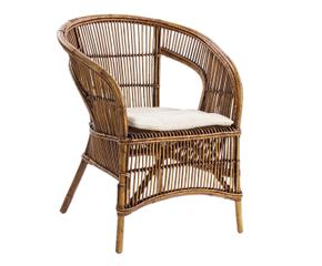 Terug van weggeweest de rotan stoel westwing for Rotan eettafel stoel