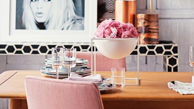 Mesa glamu(rosa)