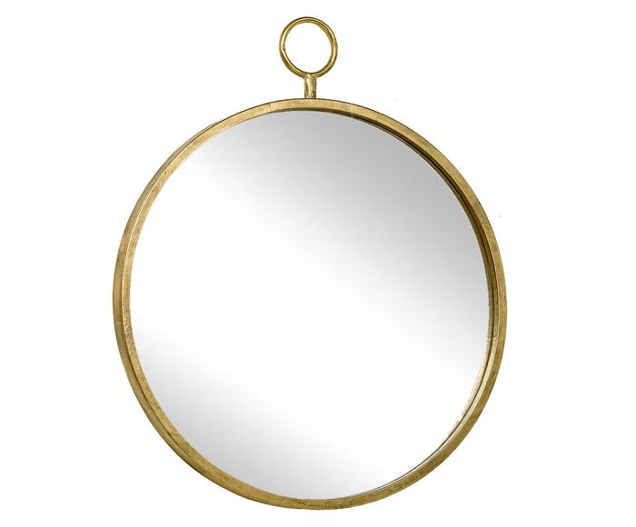 Miroir LOIS, doré - Ø40