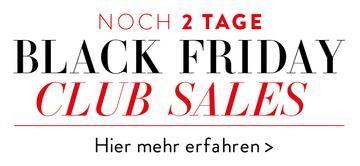 Black Friday Preview Header - noch 2 Tage