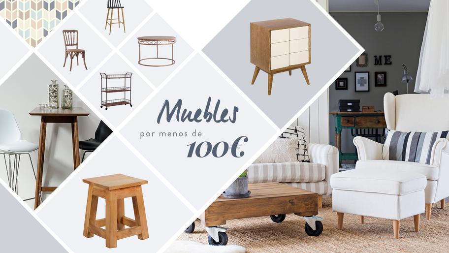Muebles por menos de 100€