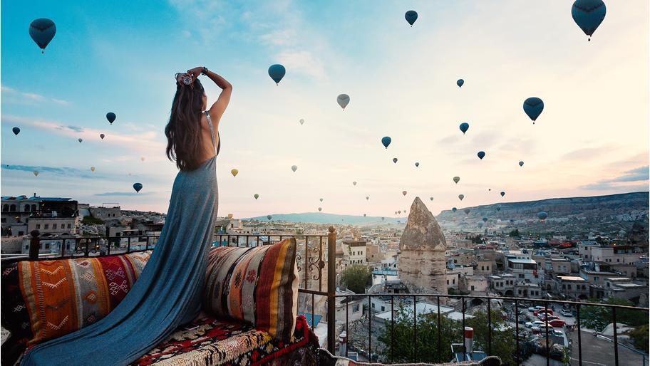 Kapadocie: festival balónů