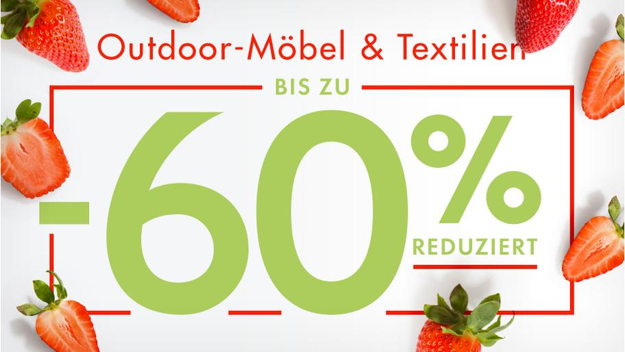 Outdoor-Möbel & -Textilien