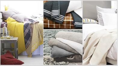 Textile gaufré