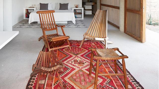 Handgewebte Kelim-Teppiche
