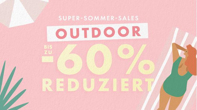 Sommer-Sale: Outdoor