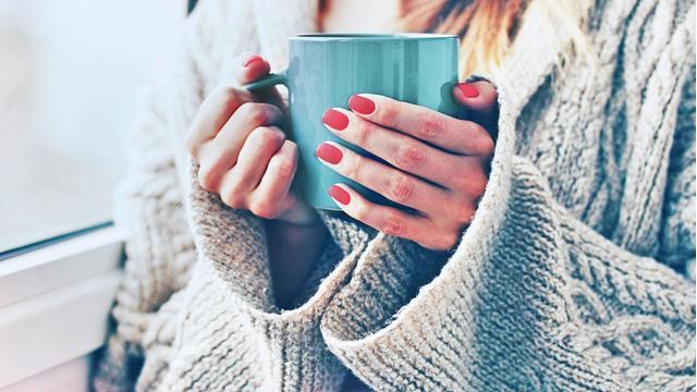 Пьем утренний кофе