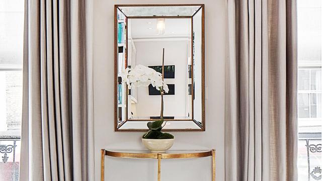 Зеркало и консоль
