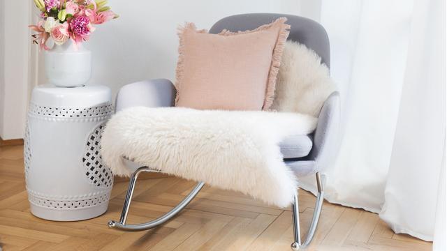 Skórzane poduszki i dywaniki