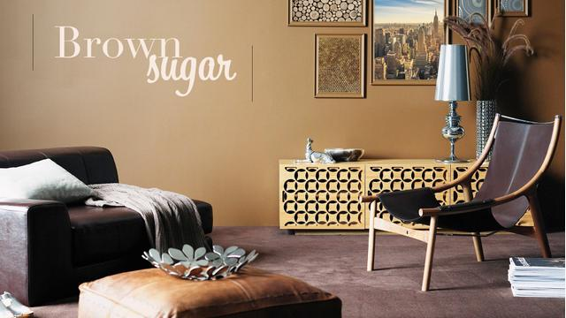 Color trend: brown sugar