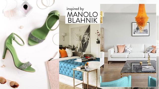 Fascynujący Manolo Blahnik