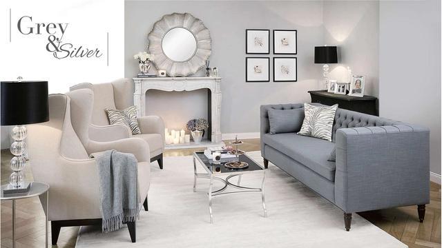 Color trend: silver grey