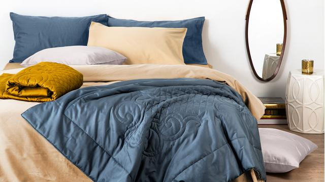 Raso: il letto si fa glam