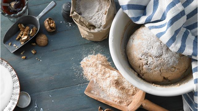 Mmmmh, selbstgebackenes Brot!