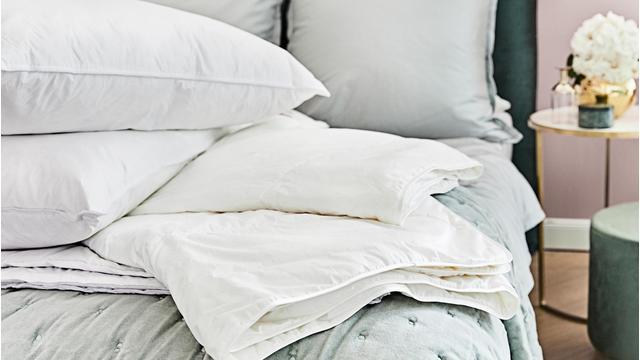 Luxuriöse Bettwaren