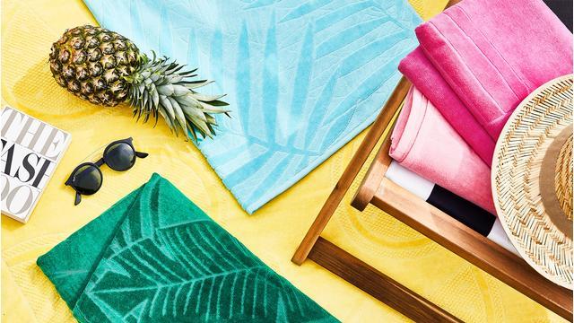 Urlaubs-Essential: Strandtuch