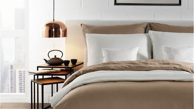 Bettwäsche im klassischen Stil