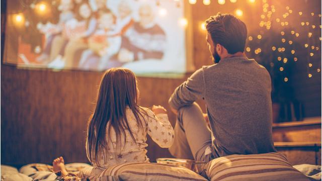Sommer-Kino mit Beamer