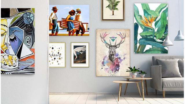 Domácí galerie obrazů