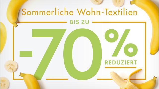 Sommerliche Wohn-Textilien