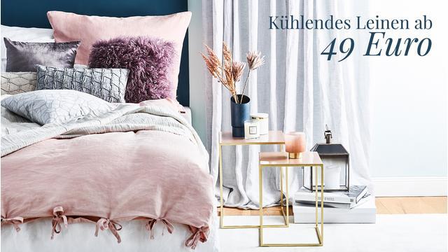 Leinen-Bettwäsche ab 49 €