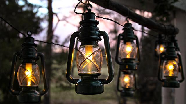 Dekorative Outdoor-Leuchten