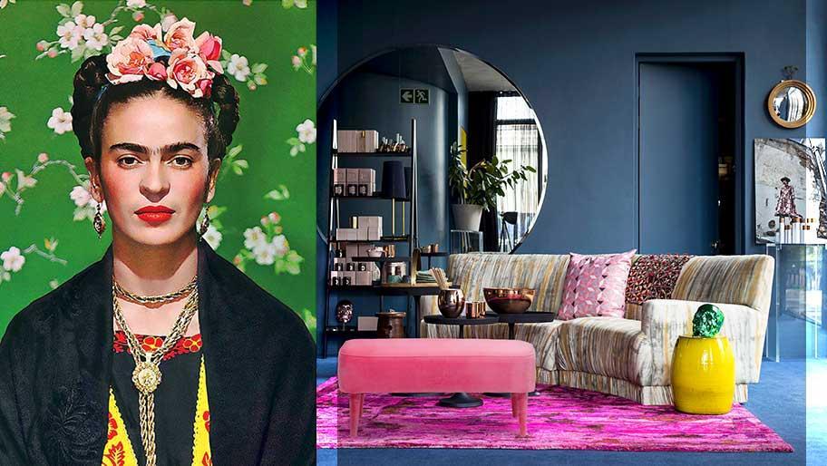 Barwny świat Fridy Kahlo