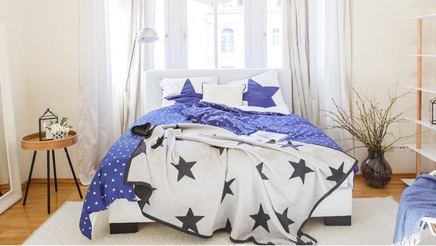 Bettwäsche mit coolen Prints