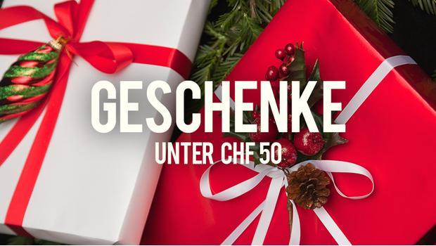 Geschenke unter CHF 50