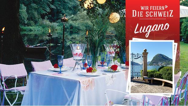 Sommerfest in Lugano