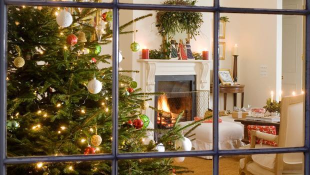Setzen Sie Weihnachtsakzente