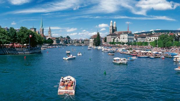 So wohnt Zürich