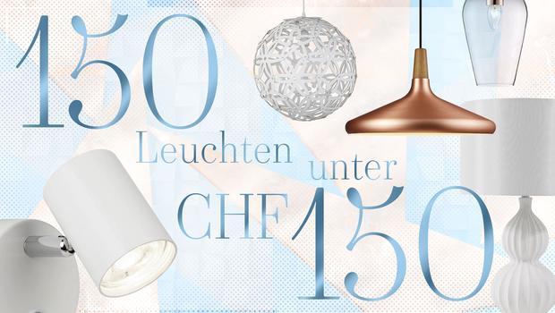 150 Leuchten unter CHF 150