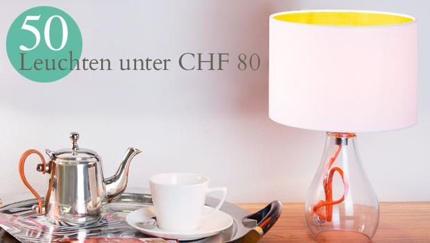 50 Leuchten unter 50 Euro
