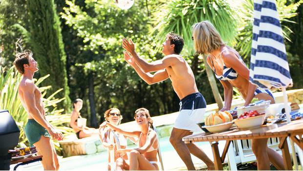 Willkommen zur Pool-Party!
