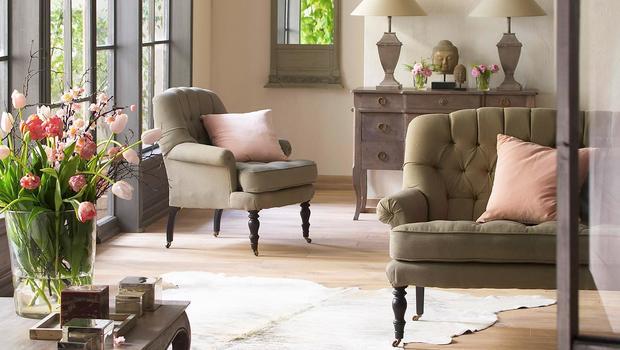 Möbel mit Château-Charme