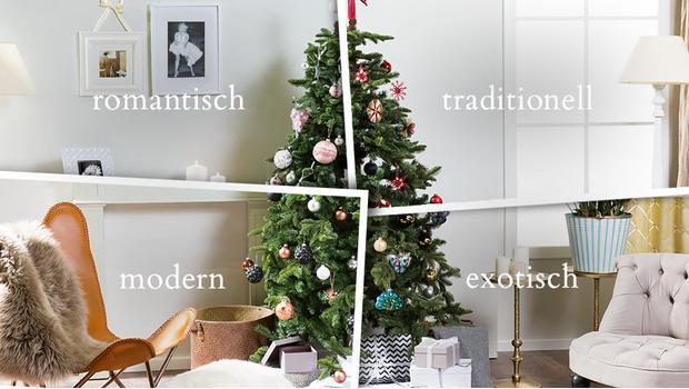 1 Baum, 4 Styles!
