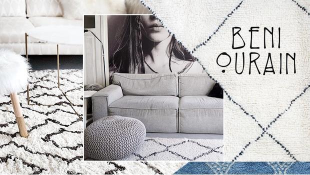 Beni Ourain-Style