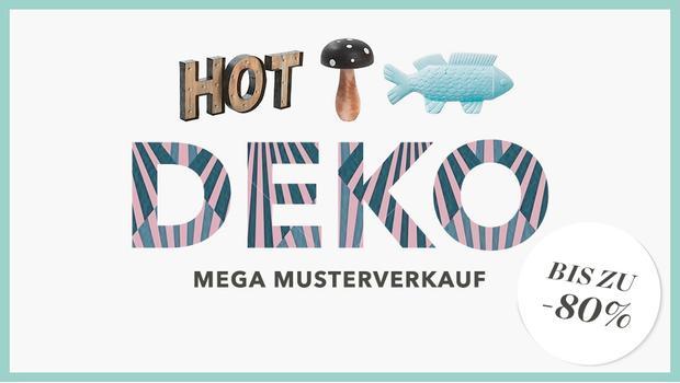 Grosser Deko-Sale